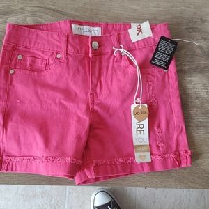 Nwt celebrity pink  Girls mid rise shorts size 12